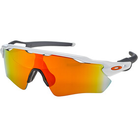Oakley Radar EV Path Occhiali da sole, polished white/fire iridium